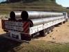 Transporte de Tubos de Aço, Chapas e Perfilados de Aço